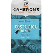 Camerons Coffee, Ground, Light Roast, Costa Rica Blend