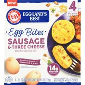 Eggland's Best Egg Bites, Sausage & Three Cheese