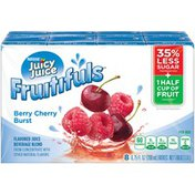 Juicy Juice Berry Cherry Burst Fruitifuls Juice Beverage blend from concentrate with other natural flavors