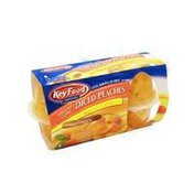 Key Food Yellow Cling Diced Peaches In Naturally Peach Flavored Light Syrup