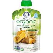 Gerber Organic 2 Nd Foods Organic Sweet Potatoes Squash & Pumpkin Baby Food