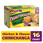 José Olé Chicken & Cheese Chimichangas