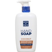 Kiss My Face Hand Soap, Coconut