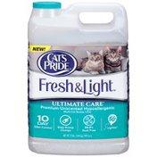Cat's Pride Fresh & Light Ultimate Care Premium Unscented Hypoallergenic Multi-Cat Scoop Litter