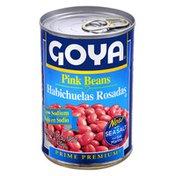 Goya Premium Pink Beans, Low Sodium
