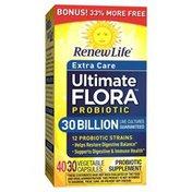 Renew Life Ultimate Flora Probiotic, Extra Care, Vegetable Capsules
