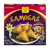Deep Samosas Original Potato-Pea Value Pack - 24 CT