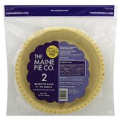 The Maine Pie Co Pie Shells, Ready-To-Bake, 9 Inch