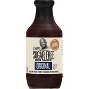 G Hughes BBQ Sauce, Sugar Free, Original