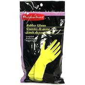 Rubbermaid Rubber Gloves, Small