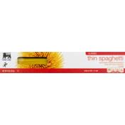 Food Lion Pasta, Thin Spaghetti, Classic, Box
