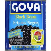 Goya Black Beans, Low Sodium