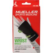 Mueller Wrist Brace, Reversible, Moderate