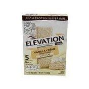 Elevation Vanilla Creme High Protein Wafer Bar