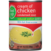 Food Club Cream Of Chicken Condensed Soup