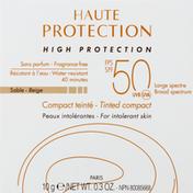 Avene Tinted Compact, Beige, SPF 50