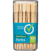 Simply Done Bamboo Forks