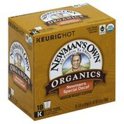 Newman's Own Coffee, Medium Roast, Newman's Special Decaf, K-Cup Pods