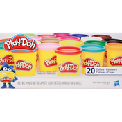 Play-Doh Super Color Pack, Modeling Compound, 20 Colors, 2+