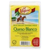 El Viajero Cheese, Fresh Semi-Soft Snacking, Queso Blanco