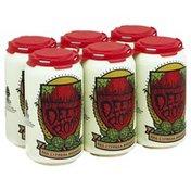 Red Cypress Brewery Beer, Hybrid Amber Ale, Deep Roots