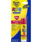 Banana Boat Sunscreen, Stick, Broad Spectrum SPF 50