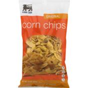 Food Lion Corn Chips, Original, Bag