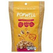 Popwell Half-Popped Corn, White Cheddar