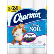 Charmin Bathroom Tissue, Double Rolls, Unscented, 2-Ply