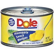Dole In Clarified Pineapple Juice Pineapple Snack Wedges