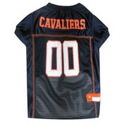 Pets First Large Virginia Cavaliers Mesh Dog Jersey