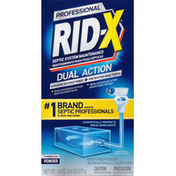Rid-X Septic System Maintenance, Dual Action, Professional, Powder