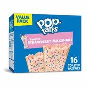 Kellogg's Pop-Tarts Toaster Pastries, Breakfast Foods, Baked in the USA, Strawberry Milkshake