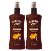 Hawaiian Tropic Tanning Oil Pump Spray - SPF 6
