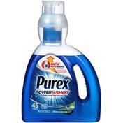 Purex Liquid Detergents Power Shot Super Concentrated Liquid Mountain Breeze Laundry Detergent