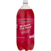 Food Lion Soda, Caffeine Free Fruit Punch, Rip Roarin