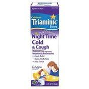 Triaminic Children's Night Time Cold & Cough Syrup, Children's Night Time Cold & Cough Syrup