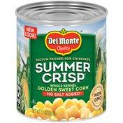 Del Monte Golden Sweet Corn, No Salt Added, Whole Kernel