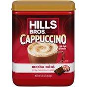 Hills Bros. Cappuccino Mocha Mint Café Style Drink Mix