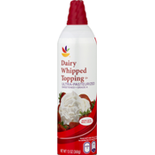 SB Whipped Topping, Dairy
