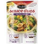Stouffer's Sauce Duo Cooking Creations Teriyaki & Sesame Sauce Duos