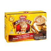 Nestle Abuelita Authentic Mexican Style Instant Hot Chocolate Mix Envelopes - 10 CT