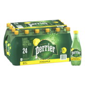 PERRIER Pineapple Flavored Carbonated Mineral Water