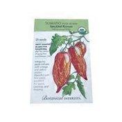 Botanical Interests Organic Speckled Roman Pole Tomato Seeds