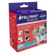 Feliway MultiCat 30-Day Diffuser Starter Kit