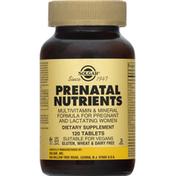 Solgar Prenatal Nutrients, Tablets