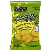 Samai Plantain Chips, Pacific Sea Salt