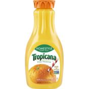 Tropicana Homestyle Orange Some Pulp 100% Juice