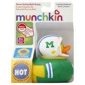 Munchkin Bath Ducky, Super Safety, 0+ Months