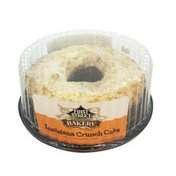 First Street Moist Citrus Flavored Louisiana Crunch Cake With A Coconut Crumb Topping